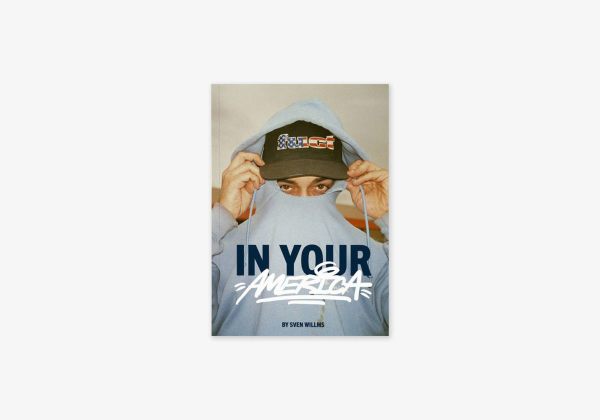 "Cover von Sven Willms Photobook ""IN YOUR AMERICA"""