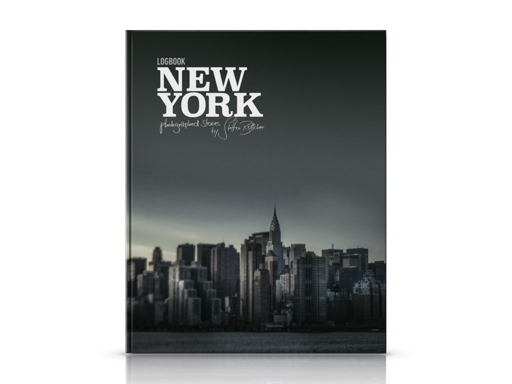 Logbook New York Cover by Steffen Böttcher