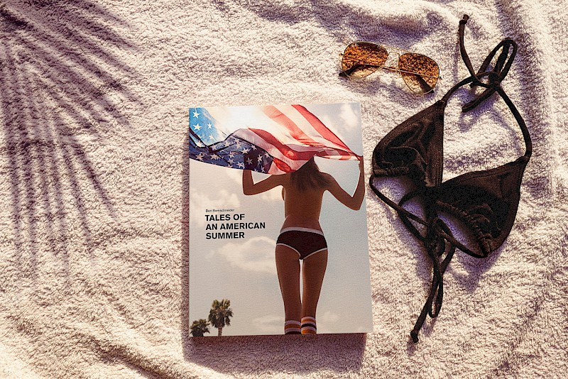 Cover of Tales of an American Summer by Ben Bernschneider